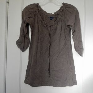 GAP drawstring long sleeve shirt